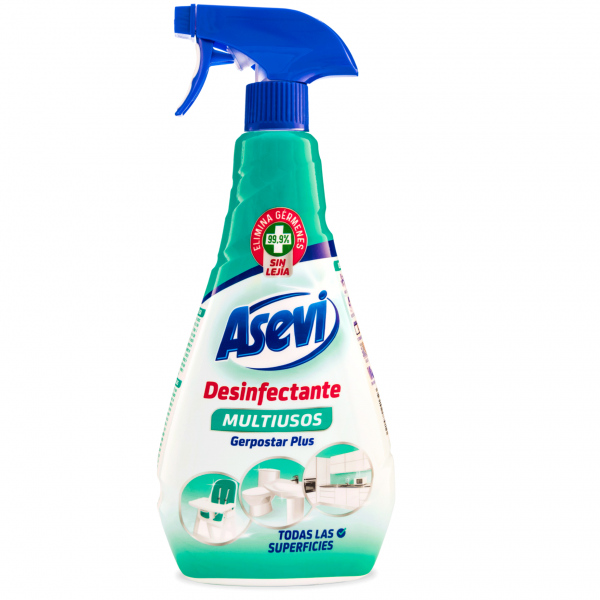 Asevi Desinfectante Multiusos Spray 750 ml