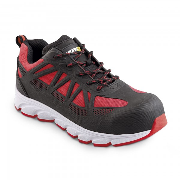 Zapato seg. workfit arrow rojo n.42
